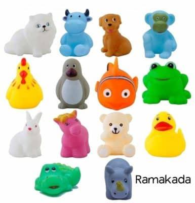 Ramakada Chu Chu Bath Toys for Baby