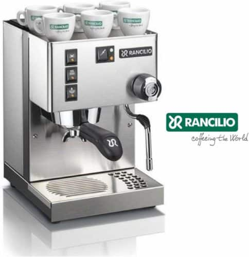 Rancilio Silvia Espresso Coffee Machine, Electronic control, Steam nozzle, Drip Tray Grid (14kgs)