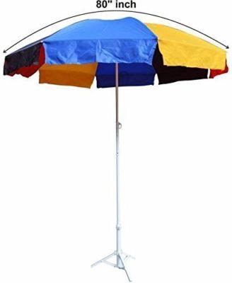 Rimzim Pongee Garden Umbrella