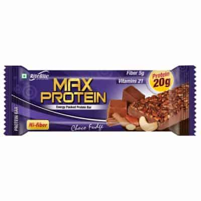 RiteBite Max Protein Choco Fudge Bar - 450g
