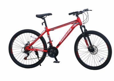Roadmill Astrodon Matt Red 21 Speed Hardtail Mountain Bicycle