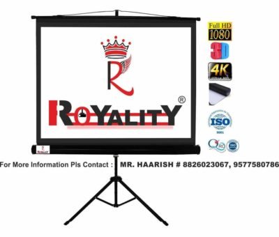 Royality industries Tripod Stand Projector Screen