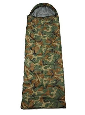 Shopee waterproof Adult Sleeping Bag - Size: Adult (220 x 70 cm) - Color: Camouflage