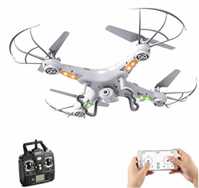 SUPER TOY Wi-Fi Camera Drone Professional Quadcopter with 2.4G Rc Helicopter Toy