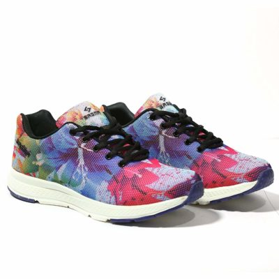 Sagma Women's Multicolor-Breathable Running Shoes