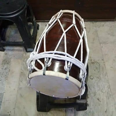 Sai Musical Professional Dholak With Rope For Orchestra