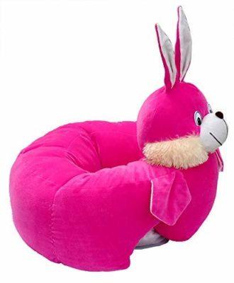 Samaaya Bunny Baby Soft Plush Cushion Cotton Sofa Seat