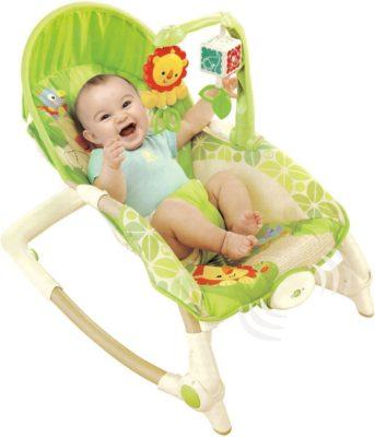 Samaira Toys Newborn to Toddler Baby Rocking Chair