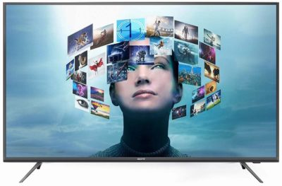 Sanyo 107.95 cm (43 Inches) 4K UHD IPS LED Smart Certified Android TV XT-43A081U