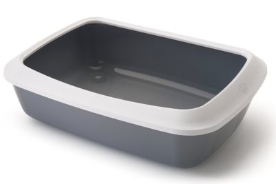 Savic Iriz Cat Litter Tray with Rim Retro