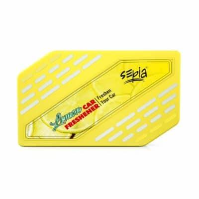 Sepia Lemon Car Air Freshener