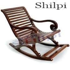 Shilpi Wooden Rocking Chair
