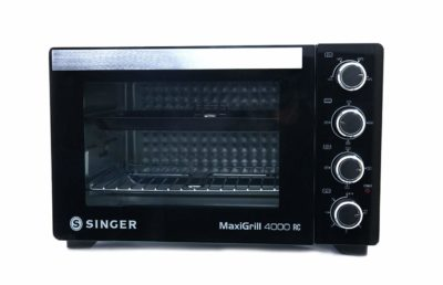 Singer Maxi Grill 4000 RC Oven Toaster Griller (Black, 40 L Capacity)