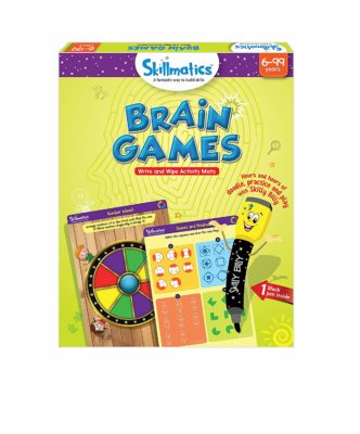 Skillmatics Educational Game: Brain Games, 6-99