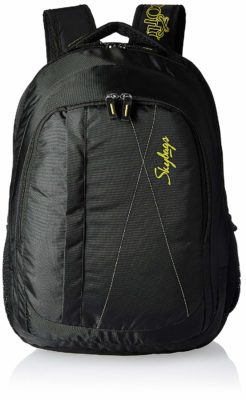 Skybags 26 liters Black Casual Backpack