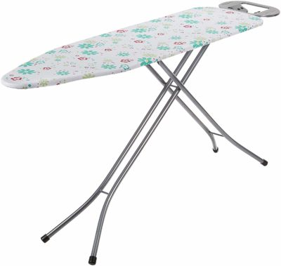 Solimo Ace Folding Ironing Board with Iron stand