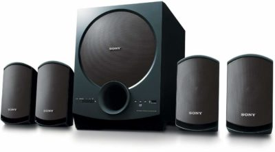Sony SA-D40 C E12 4.1 Channel Multimedia Speaker System with Bluetooth