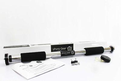 Sportz Gear- Premium Multi-Purpose Adjustable Door Pull up Bar