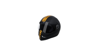 Steelbird SB 50 Adonis Dashing Black Golden with Plain visor Review