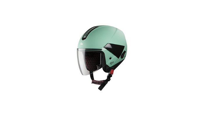 Steelbird SBH 5 VIC Female Glossy Jade Green with Plain Visor Review