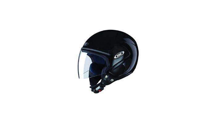 Studds Cub SUS COFH BLKL Open Face Helmet Black L Review