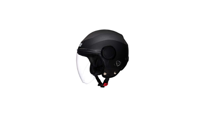 Studds Urban Open face Helmet BK BK StripL Review