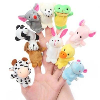 Styleys Animal Finger Puppets