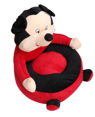 Sunshine Creations Red And Black Baby Sofa