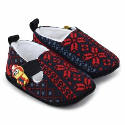 Superminis Baby Boys Ethnic Print Thick Base Shoes