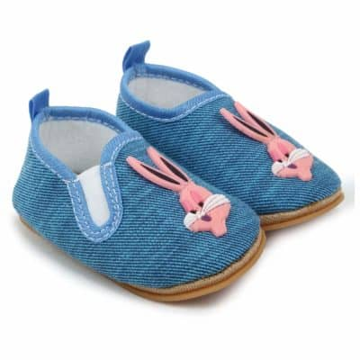 Superminis Baby Boys Rabbit Style Shoes