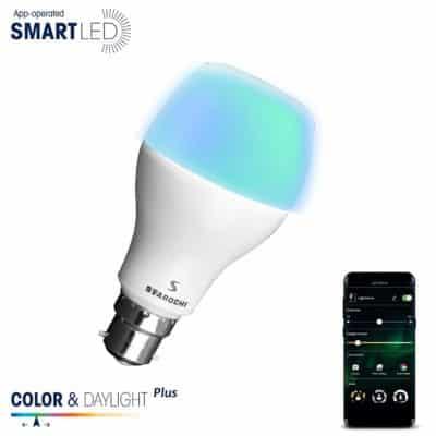 Svarochi Smart LED App Operated Lights (White, 9 W)