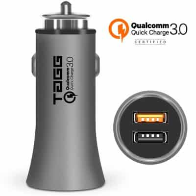 TAGG Roadster Dual USB Smart Car Charger
