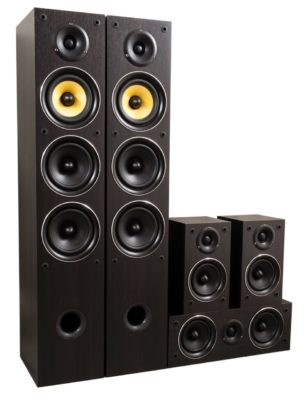 Taga Harmony TAV-506 v.2 540W RMS 5.0-CH Home Cinema Speaker Set