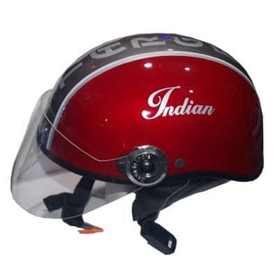 Target Indian Half Face Helmets