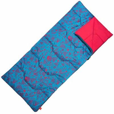 The sleeping bags for kids