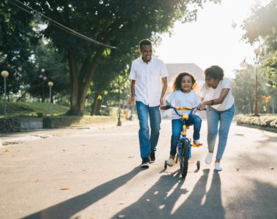 Tips to teach your kids to cycle