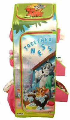 Tom & Jerry FC5ST2 Fun Closet 5 Shelf Folding Wardrobe