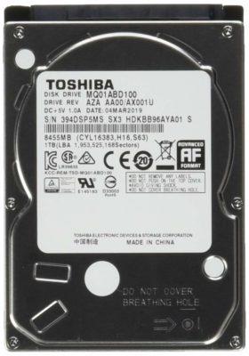 Toshiba 2.5 1TB Internal Hard Drive for Laptop