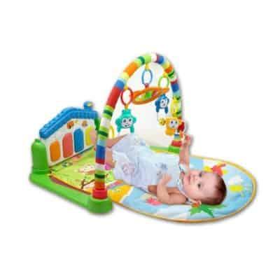 Toyshine Baby's Playmat Gym with Toys