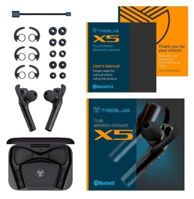 Treblab X5 whats in the box 1