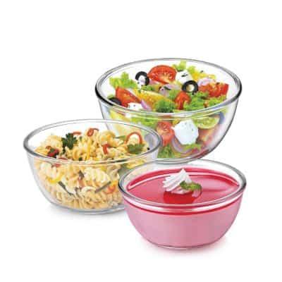 Treo Borosilicate Microwave Safe Mixing Glass Bowl