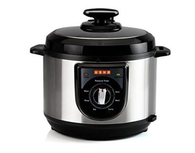 Usha Electric Pressure Cooker with Safety Mechanisms