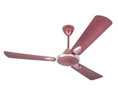 Usha Striker Platinum 1200mm 80-watt Goodbye Dust Ceiling Fan with Anti Dust Feature (Lavender Chrome)