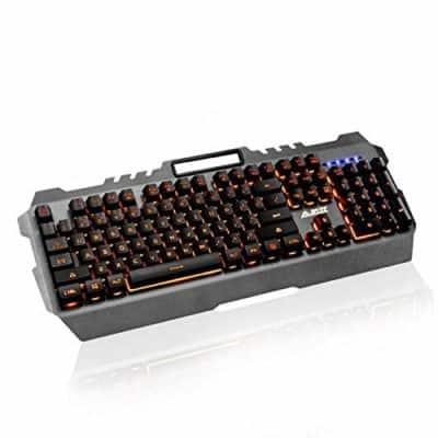 VBTEK Orange Colour Backlit Gaming Keyboard