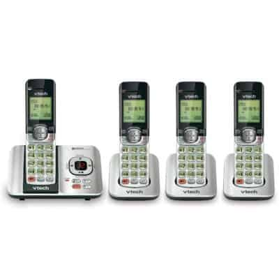 VTech CS6529-4 DECT 6 Phone Answering system