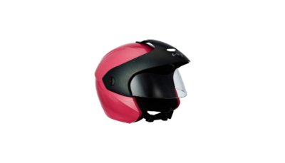 Vega BUD OF P Half Face Helmet Pink XS Review