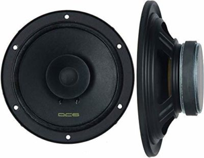 Vextron DC6 Dual Cone Pair of 6 Inch (160mm) Coaxial Car Speaker(320 W)