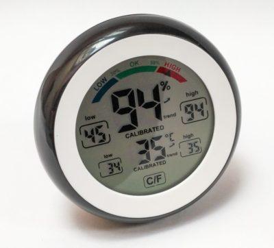 Vip Gadgets Downlabs ABS Multifunctional Digital Thermometer Hygrometer Temperature Humidity Meter