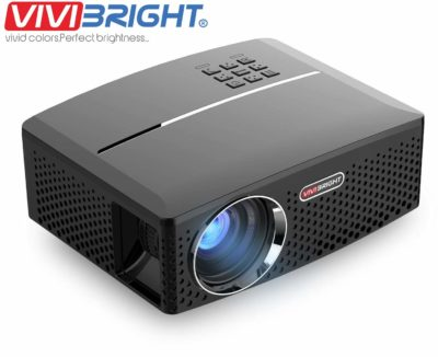 ViviBright GP80 1800LM Portable LED Projector