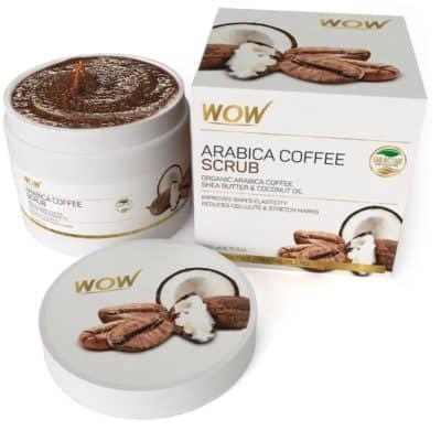 WOW Arabica Coffee Mineral Oil Scrub